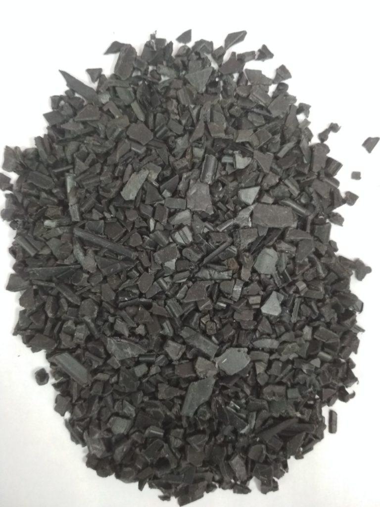 Полиэтилен низкого давления высокой плотности вторичный дробленый (промытый просушенный